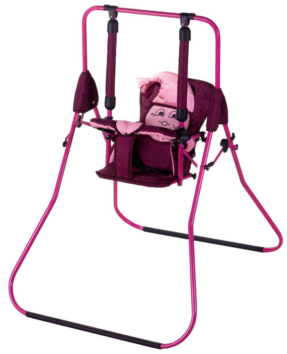 Гойдалка Умка Casper бордовий-рожевий