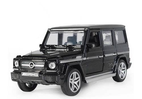 Машинка XLG Mercedes G-500 Gelenvagen (1:32) черный (1055)