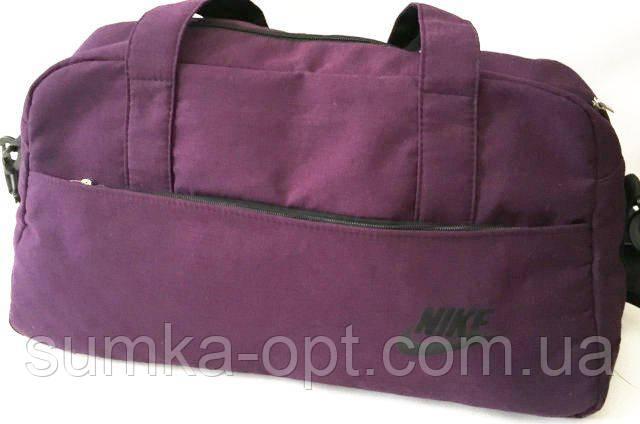Спортивні дорожні сумки Nike (фіолет текстиль)28*48