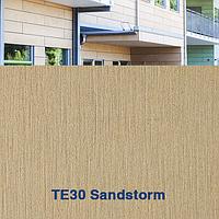 Панель фиброцементная TE30 Тектива Sandstorm из натуральных материалов