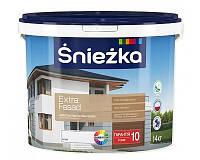 """Краска водоэмульсионная акриловая для фасадов """"Extra Fasad"""", 10л"""