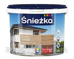 """Краска водоэмульсионная акриловая для фасадов """"Extra Fasad"""", 1л"""