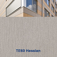 Панель фиброцементная  TE60 Тектива Hessian