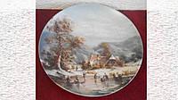 Коллекционная тарелка Furstenberg Германия 1987 года *Горы*