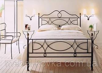 Кровать кованая 32