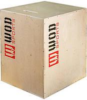 Тумба для кросфіту (пліометричні бокси) WOD 50-60-75 см