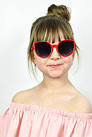 Солнцезащитные детские очки Полли красные