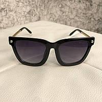 Солнцезащитные очки Prada  Round Points Black
