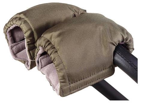 Рукавицы Умка R02 на коляску хаки