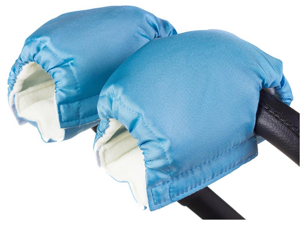 Рукавицы Умка R02 на коляску  голубые