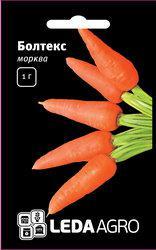 """Семена моркови Болтекс, 1 гр., ТМ """"ЛедаАгро"""""""