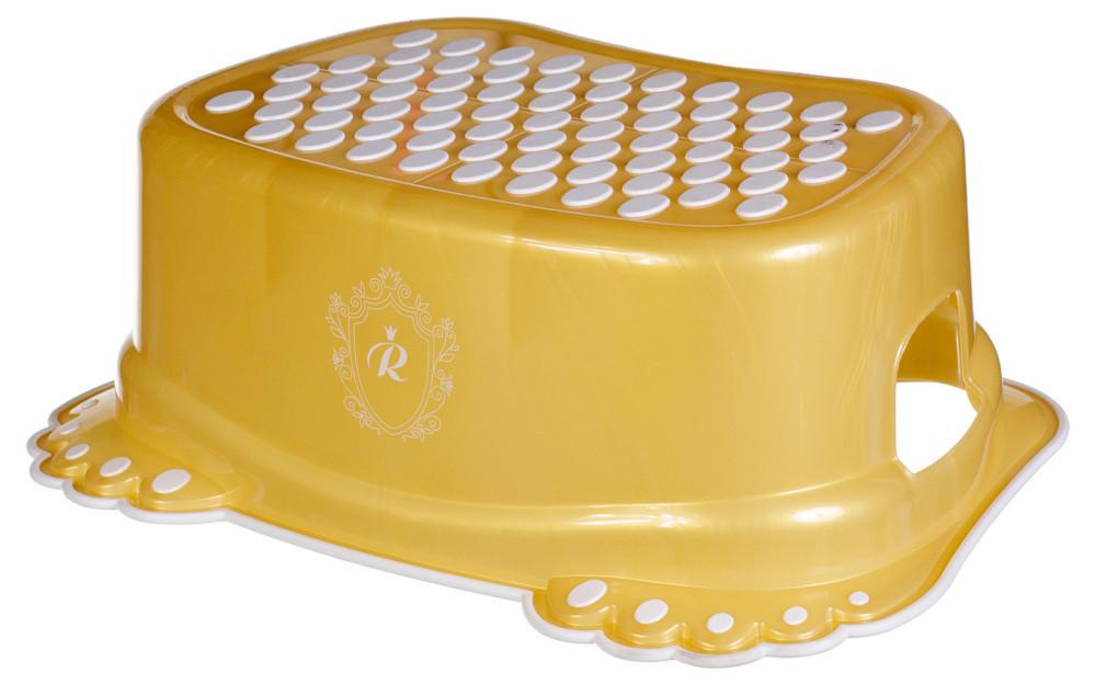 Подножка Tega Royal RL-006 антискользящая  золотая
