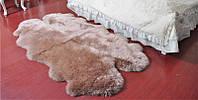 Ковер из овчины из 4-х новозеландских овечьих шкур, фото 1