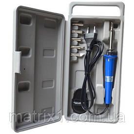 Набор для гравировки выжигатель  ZD-410B, 30W (паяльник + 6 наконечников), в кейсе, Zhongdi