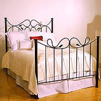 Кровать кованая 40