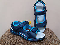 Босоножки 32р-21.2 см Clibee синие