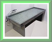 Гранитная кушетка для массажа с инфракрасным подогревом (платформа)