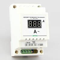 Цифровой амперметр переменного тока на DIN-рейку (300А) АМ-300/D1-В, фото 1