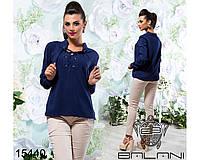 Блуза  с  длинным  рукавом  -  15440