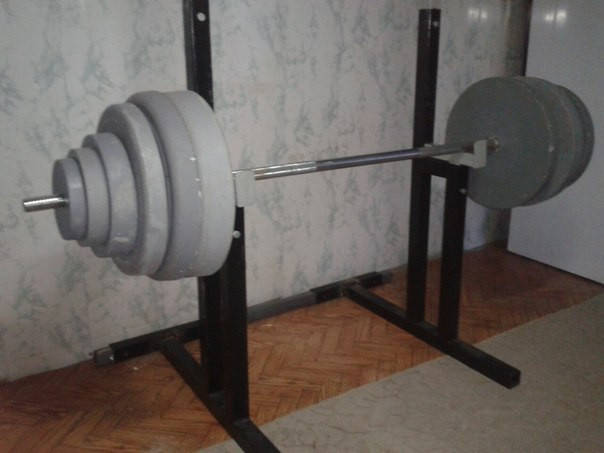 Штанга 100 кг. + стойки