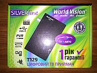 Т2 тюнер World Vision T129 + шнур питания с прикуривателя 12В