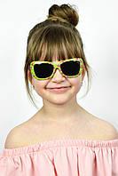 Солнцезащитные детские очки Тиана салатовые