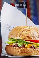 Флажки для бургеров с Вашим логотипом