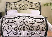 Кровать кованая 41