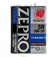 Синтетическое моторное масло Idemitsu Zepro Touring 5w30 4L