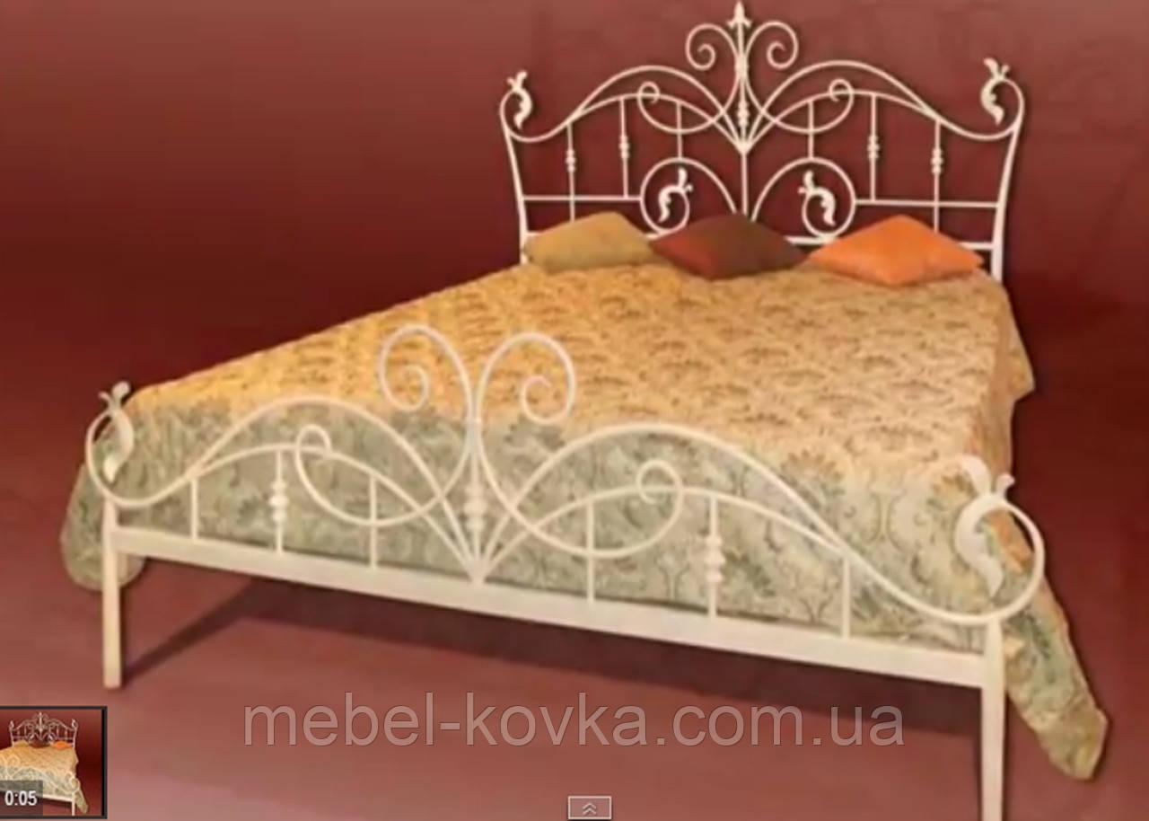 Кровать кованая 42