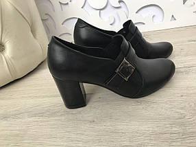 Замшевые или кожаные туфли на невысоком устойчивом каблуке 36-41 размер