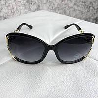 Солнцезащитные очки Prada женские Sunglasses Tapestry Eyewear 1319 Black (реплика люкс класса 1:1)