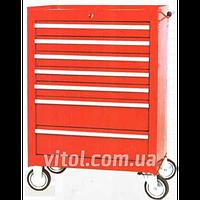 Тележка инструментальная для гаража TB 2080 BBS-B, ящики 7 штук, размеры 688 х 458 х 735 мм, тележка для инструментов, тележка для автоинструмента