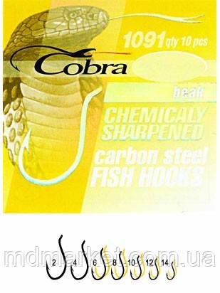 Гачки Cobra BEAK сер.1091BZ №6 10шт (оригінал)