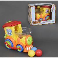 Детский Паровоз с шариками 958
