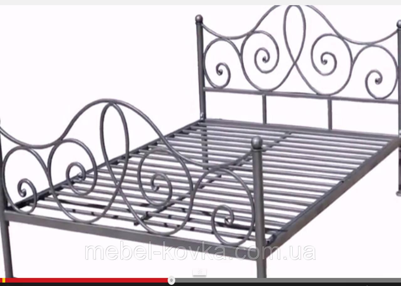 Кровать кованая 48