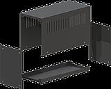 Корпус металевий MB-10 (Ш90 Г210 В120) чорний, RAL9005(Black textured), фото 2