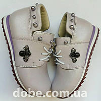 Детские туфли на шнурках для девочки р.21-29 23d3874b3b67f