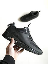 Мужские кроссовки Nike Air Max 90 Mid Black, фото 3