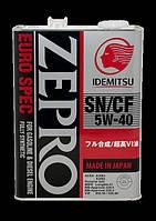 Синтетическое моторное масло Idemitsu Zepro EuroSpec  5w40 4L