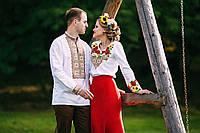 Парні вишиванки.Сорочка жіноча + сорочка чоловіча МВ-52п ea426fc0f8b04