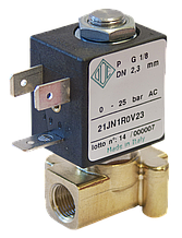 Электромагнитный клапан для воздуха 21JN1R0V23 (ODE, Italy), G1/8