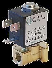 Электромагнитный клапан прямого действия 21JN1R0V23 (ODE, Italy), G1/8