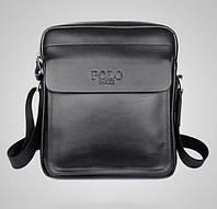 Мужская сумка Polo Fanke 9912Bl черная, фото 1