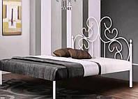 Кровать кованая 60