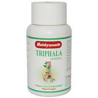 Для обмена веществ Трифала Гуггулу, Байдьянатх / Triphala Guggulu, Baidyanath / 80 tab