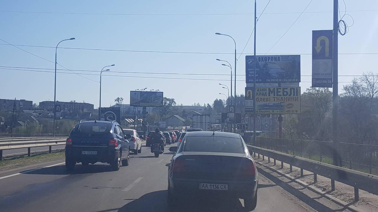 Реклама на бордах в Киевской области