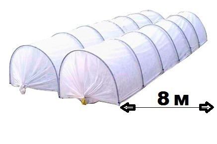 Парник Агро-Лидер из агроволокна 42 плотность 8 метров