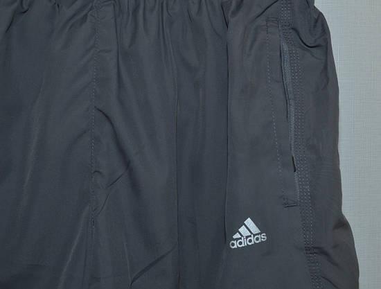 Мужские шорты плащевка ADIDAS серые 627 (Реплика) M, фото 3