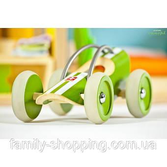 """Деревянная игрушка машинка из бамбука """"E-Racer Suzuka"""""""